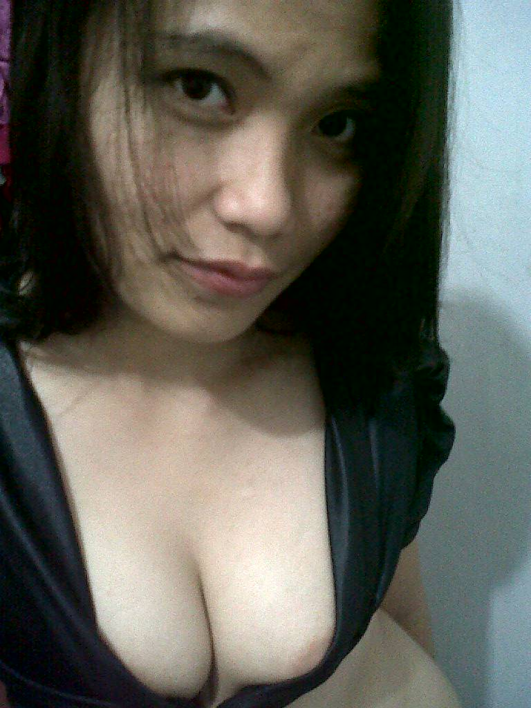 Something is. Indonesian girl sexy boobs